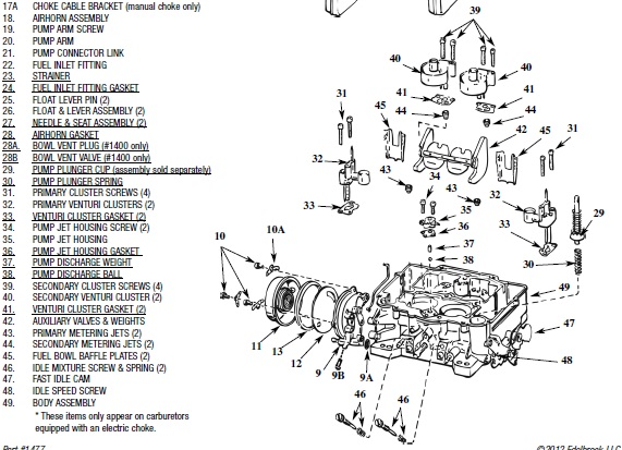 Edelbrock 1406 Vacuum Diagram Engine Diagram And Wiring